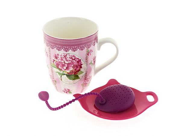 {} Nouvelle Кружка Розовая Гортензия (341 мл) polystar кружка розовая гортензия 360 мл