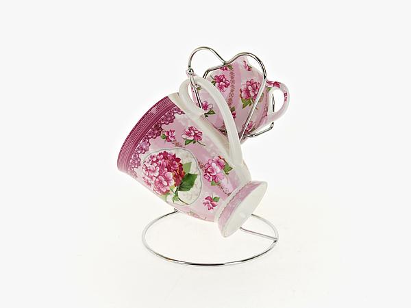 {} Nouvelle Чайный набор Розовая Гортензия (256 мл) чайный набор 4 предмета nouvelle сад m0661199