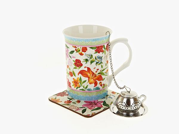 {} Nouvelle Чайный набор Восточная Лилия (256 мл) чайный набор 4 предмета nouvelle сад m0661199