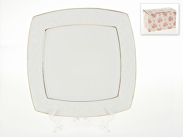 {} Best Home Porcelain Блюдо Белый Кварц (3х27х27 см) россия блюдо 3 спопки