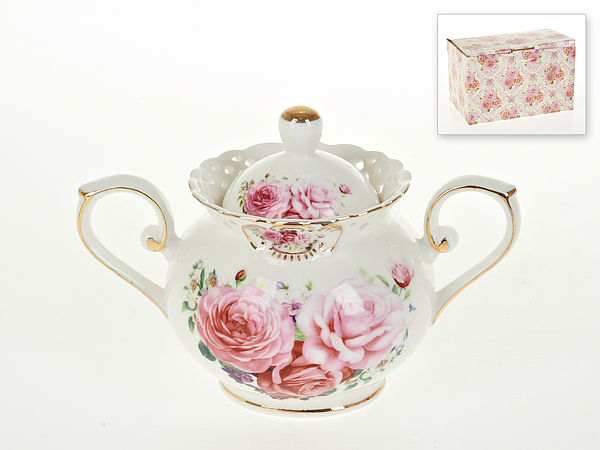 {} Best Home Porcelain Сахарница Marika (11х12х17 см) сахарница 17х11х12 см best home porcelain сахарница 17х11х12 см