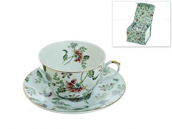 {} Best Home Porcelain Чайная пара Альпийский Сад (250 мл) best home porcelain чайная пара альпийский сад 250 мл