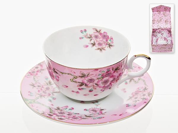 {} Best Home Porcelain Чайная пара Яблоневый Цвет (250 мл) best home porcelain чайная пара альпийский сад 250 мл