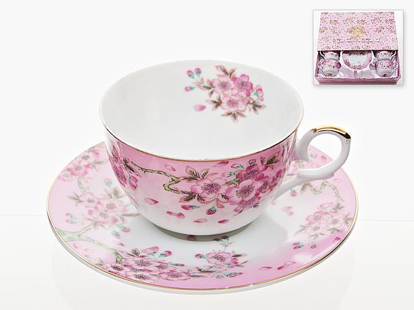{} Best Home Porcelain Набор чашек Яблоневый Цвет (250 мл) best home porcelain кружка яблоневый цвет 350 мл