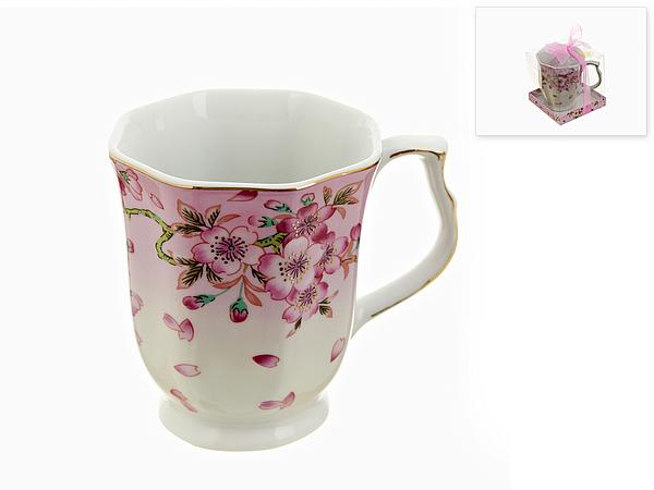 {} Best Home Porcelain Кружка Яблоневый Цвет (350 мл) кружка amber porcelain орнамент цвет белый черный 220 мл