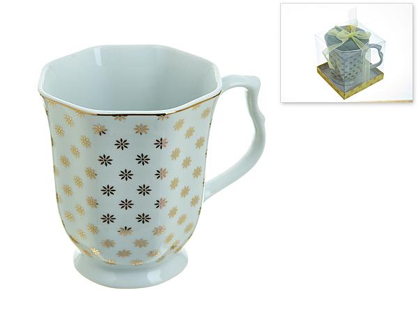 {} Best Home Porcelain Кружка Золотой Каприз (350 мл) кружка amber porcelain орнамент цвет белый черный 220 мл