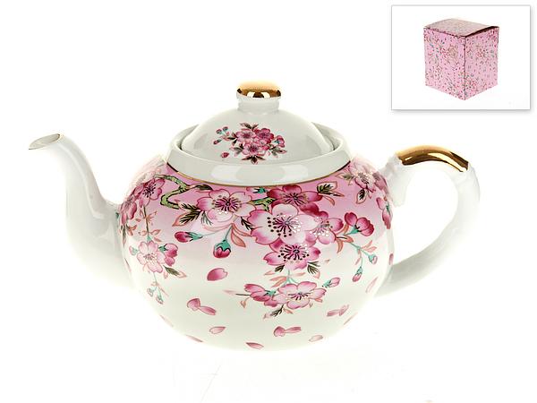 {} Best Home Porcelain Заварочный чайник Яблоневый Цвет (1000 мл) чайник заварочный sima land риштан цвет синий белый зеленый 400 мл