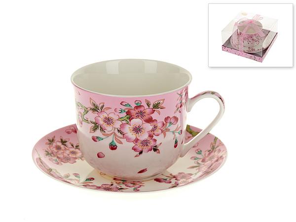 {} Best Home Porcelain Чайная пара Яблоневый Цвет (450 мл) best home porcelain кружка яблоневый цвет 350 мл