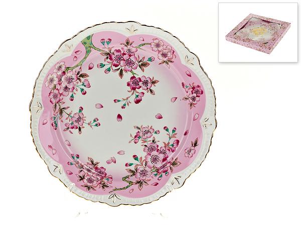 {} Best Home Porcelain Блюдо Яблоневый Цвет (3х25 см) россия блюдо 3 спопки