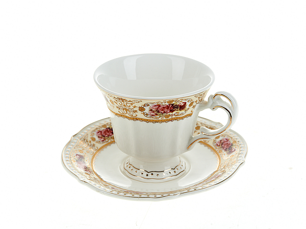 {} Best Home Porcelain Чайная пара Розы (200 мл) dg home софа papa bear dark grey