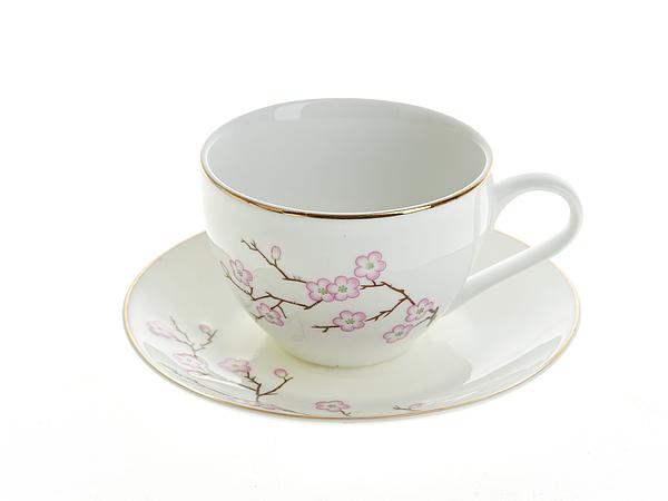 {} Best Home Porcelain Чайная пара Сакура (230 мл) dg home софа papa bear dark grey