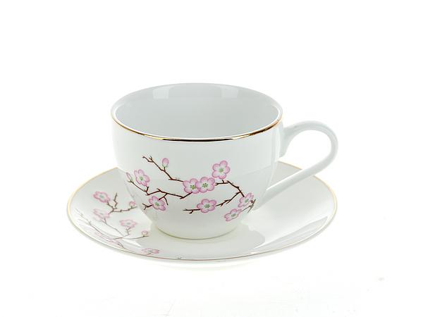 {} Best Home Porcelain Набор кружек Сакура (230 мл) набор кружек amber porcelain надписи цвет белый зеленый красный 220 мл 2 шт