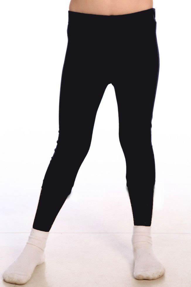 Детские брюки, шорты Pastilla Леггинсы Pen Цвет: Черный (4-5 лет)