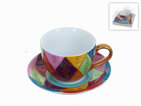 {} Best Home Porcelain Чайная пара Арлекино (220 мл) best home porcelain чайная пара olympia 220 мл