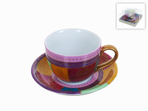 {} Best Home Porcelain Чайная пара Пэчворк (220 мл) best home porcelain чайная пара olympia 220 мл
