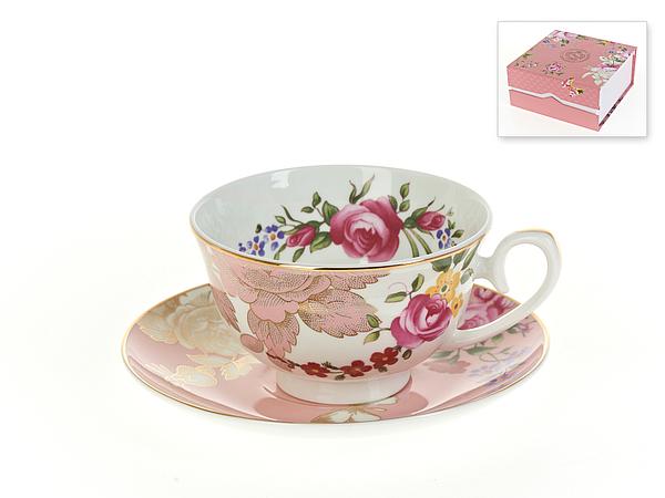 {} Best Home Porcelain Чайная пара Жизель (250 мл) best home porcelain чайная пара альпийский сад 250 мл