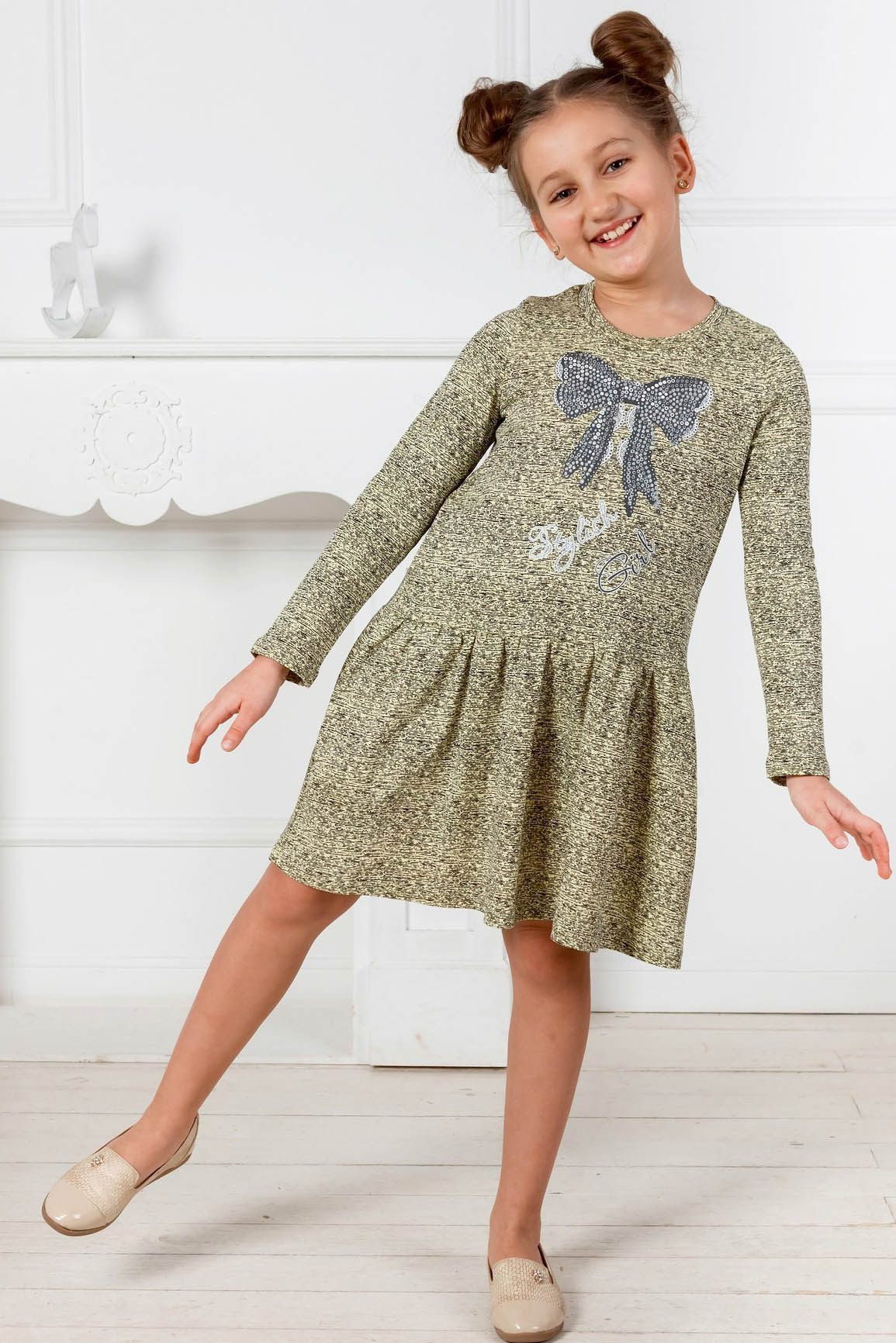 Детская домашняя одежда Pastilla Платье Маленькая Леди (4-5 лет) маленькая фея детская одежда
