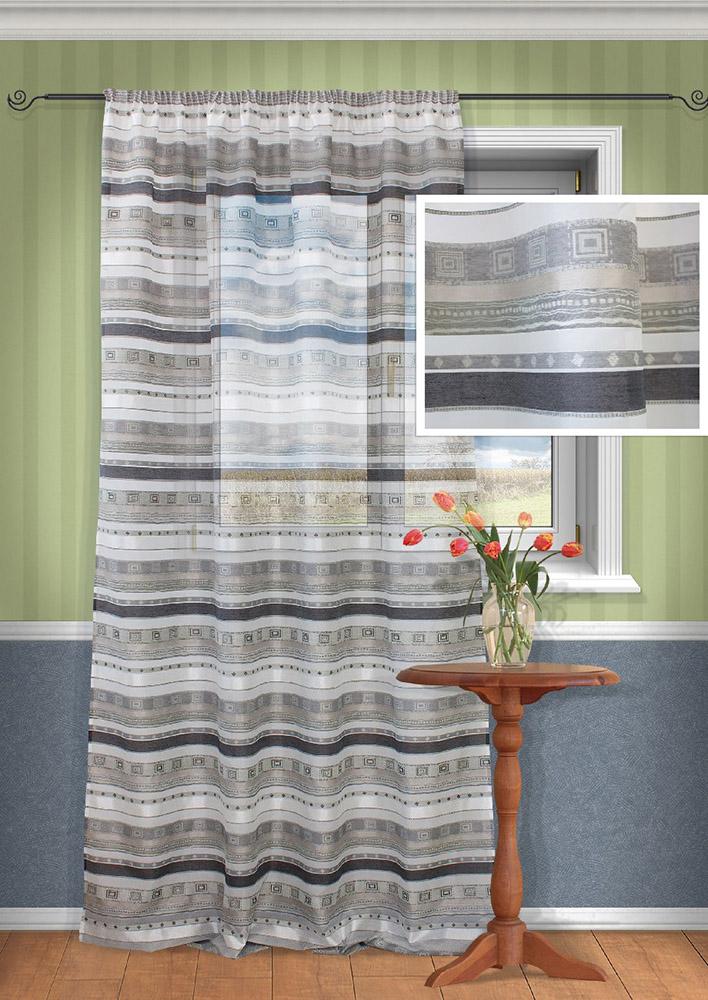 Шторы Kauffort Классические шторы Macadi - XL Цвет: Серый шторы kauffort классические шторы cresh xl цвет шампань