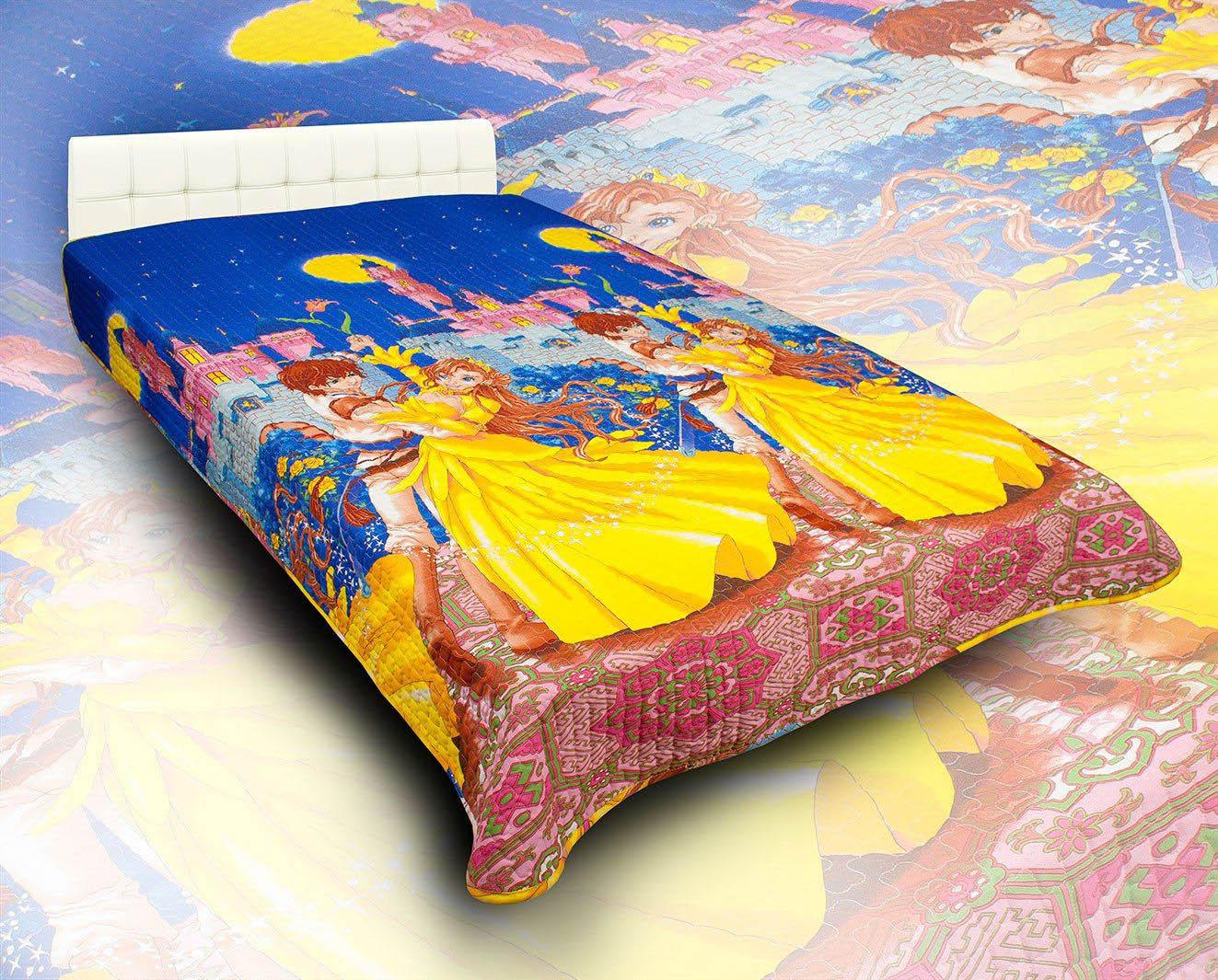 Детские покрывала, подушки, одеяла AlViTek Детское покрывало Мир Чудес (150х215 см) покрывало рафаэль поплин 150х215