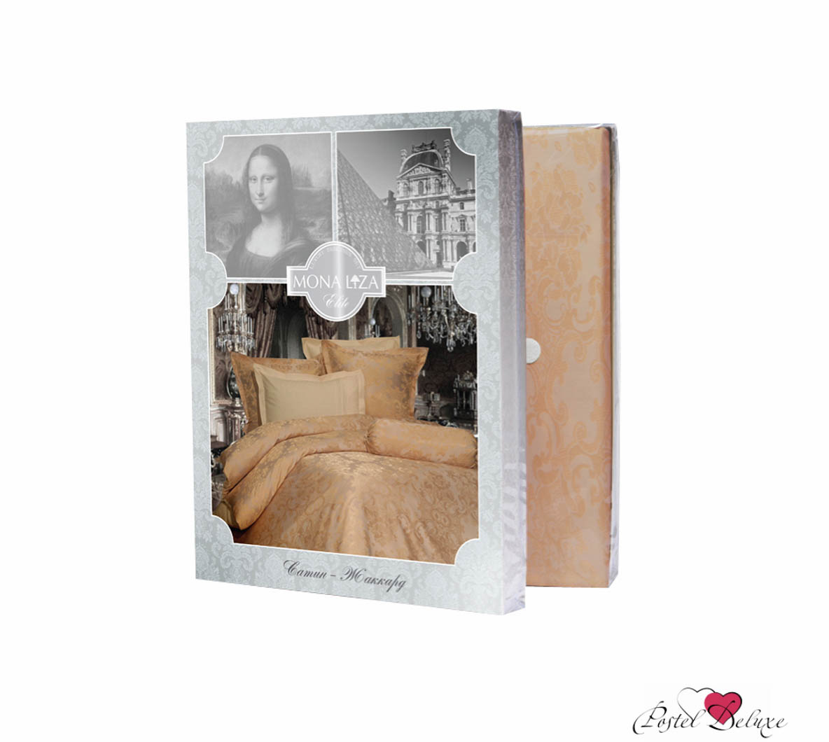 Постельное белье Mona Liza Постельное белье Madam Gisele (2 сп. евро) комплект пб 2 сп mona liza сатин жаккард royal 4 нав 2шт 70х70 и 2 шт