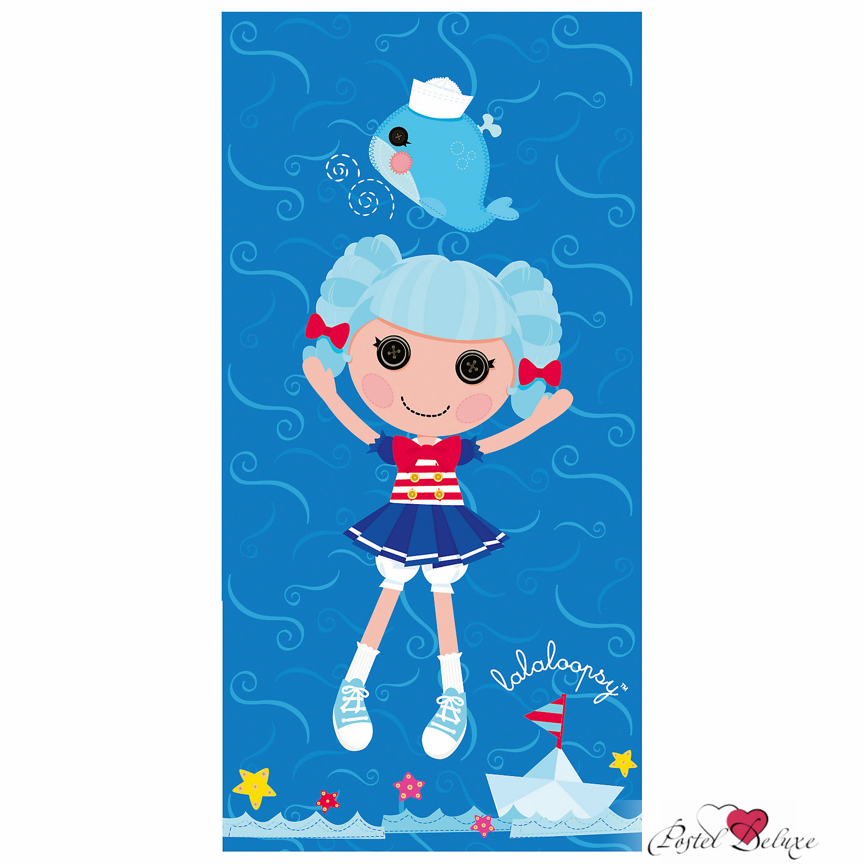 Полотенца Mona Liza Детское полотенце Синяя куколка (50х90 см) цена