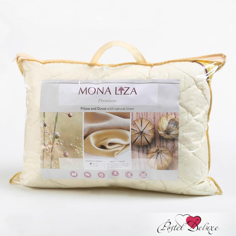 Подушки Mona Liza Подушка Льняное волокно (70х70) подушка wendre tencel comfort 70х70 тэнсель 30% полиэстер 70%