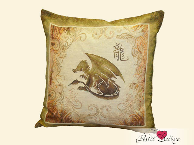 Декоративные подушки Мток Декоративная наволочка Дракон (50х50) lily 2 pink вибромассажер