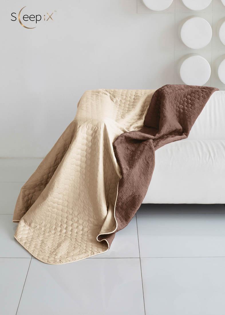 {} Sleep iX Одеяло-покрывало Multi Blanket Цвет: Бежевый/Коричневый (200х220 см)