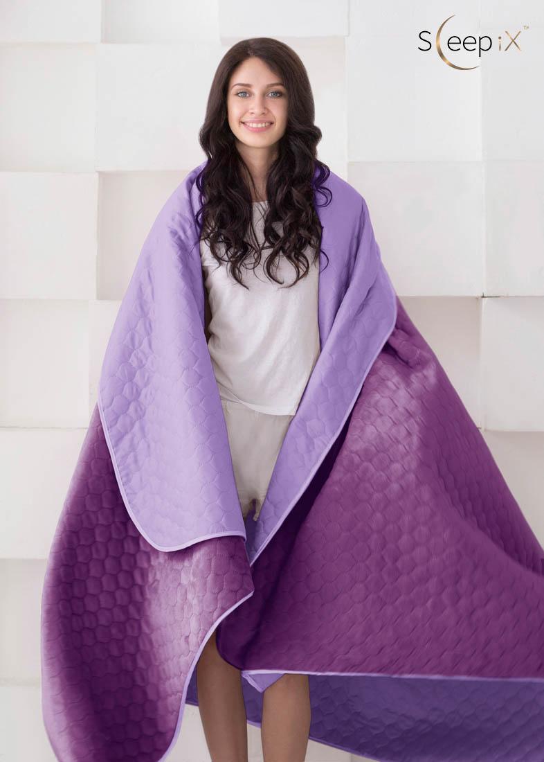 {} Sleep iX Набор Multi Set (с подушками) Цвет: Фиолетовый (220х240 см)