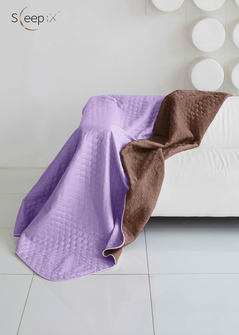 {} Sleep iX Одеяло-покрывало Multi Blanket Цвет: Фиолетовый/Коричневый (200х220 см)
