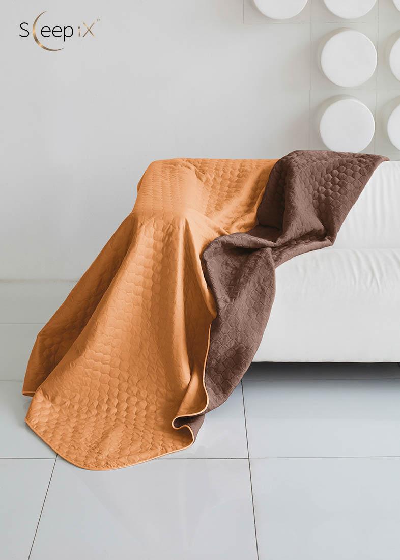 {} Sleep iX Одеяло-покрывало Multi Blanket Цвет: Оранжевый/Коричневый (200х220 см)