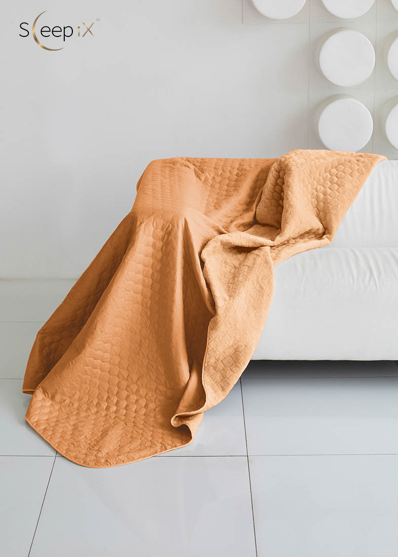 {} Sleep iX Одеяло-покрывало Multi Blanket Цвет: Оранжевый/Рыжий (200х220 см)