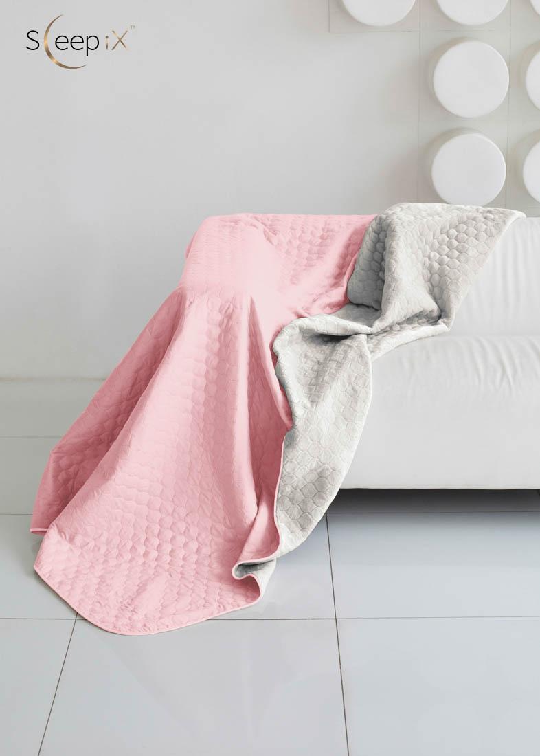 {} Sleep iX Одеяло-покрывало Multi Blanket Цвет: Розовый/Серый (200х220 см)