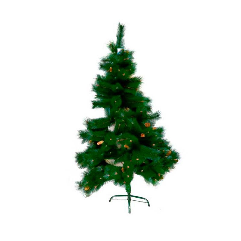 {} Сосна с шишками Цвет: Зеленый (150 см) сосна цвет зеленый 210 см