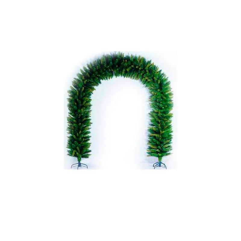 {}  Арка елочная Цвет: Зеленый (210 см) арка межкомнатная симплекс рено малая мдф набор без отделки