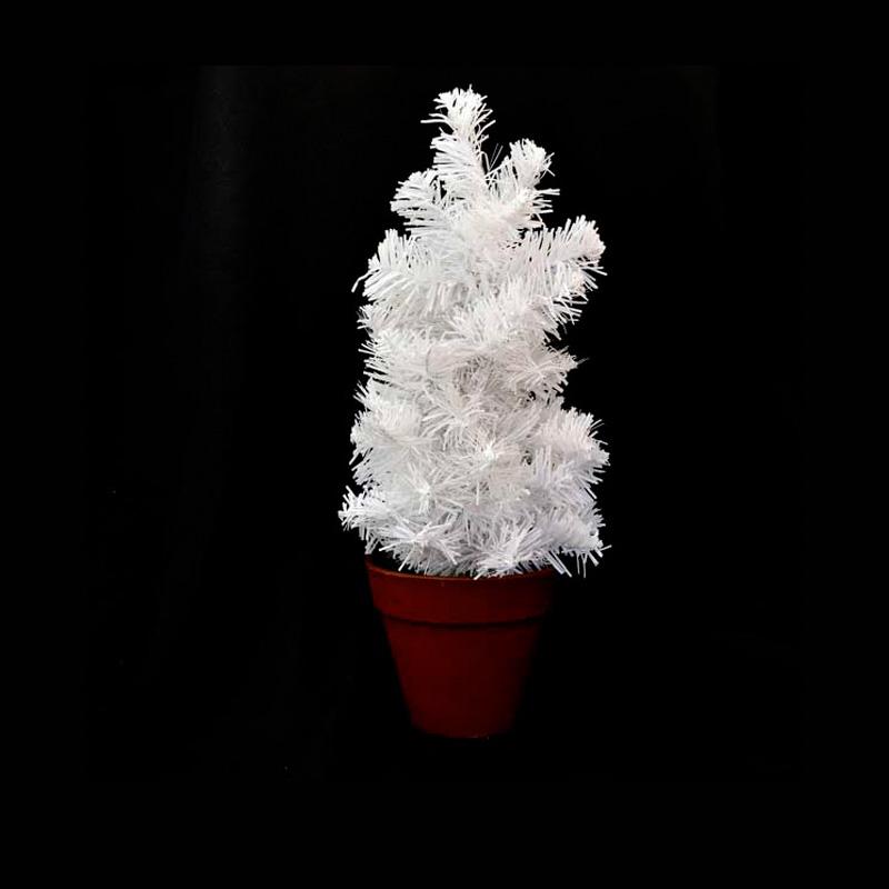 {} Ёлка Цвет: Белый (36 см) искусственная ёлка christmas market ричардсон стар 183 см с гирляндой cm17 200