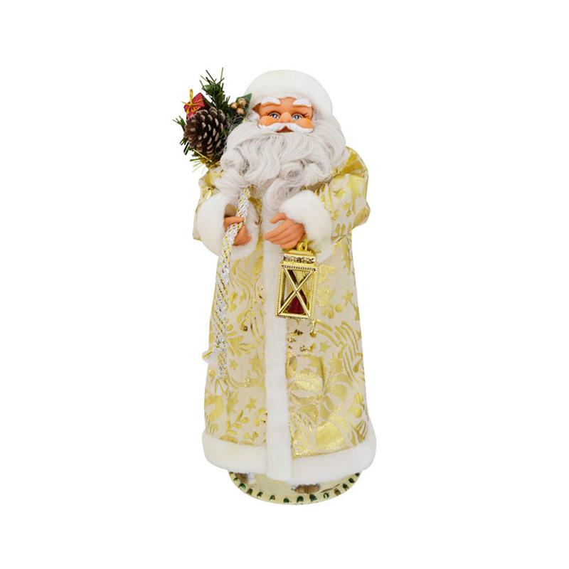 {}  Игрушка интерактивная Дед Мороз Цвет: Золотой (46 см)