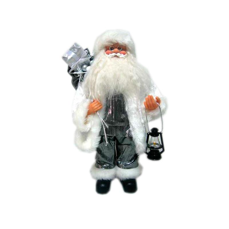 {}  Фигурка под елку Дед Мороз с Подарками и Фонарем (30 см) homephilosophy фигурка с крючком дед мороз снеговик ma 189