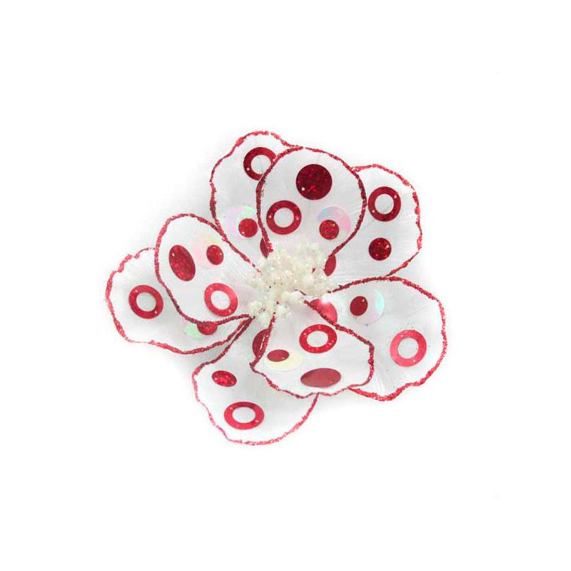 купить {}  Искусственный цветок Горошек (17 см) дешево