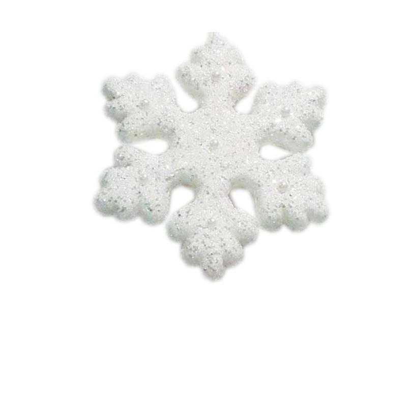 {} Подвеска декоративная Снежинка ( 21 см) подвеска декоративная снежинка ажурная пвх 61 см