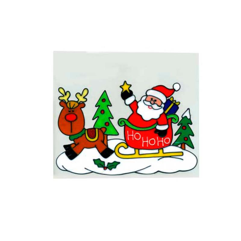 {} Наклейка-панно Санта (20х25 см)