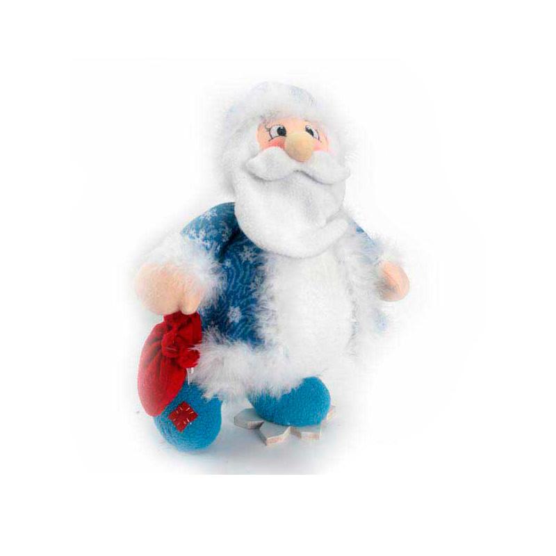 {}  Фигурка под елку Дед Мороз на Снежинке (35 см)