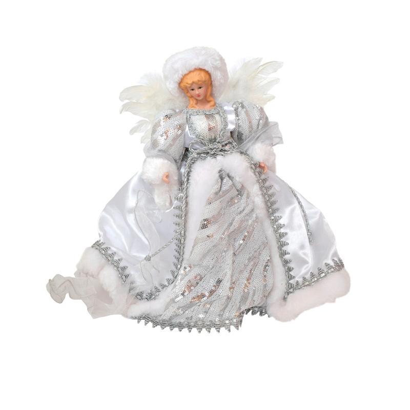 {}  Фигурка под елку Ангел Цвет: Белый (31 см)