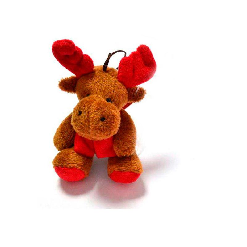 {}  Мягкая игрушка Лось (10 см) трикси игрушка для собаки осел ткань плюш 55 см