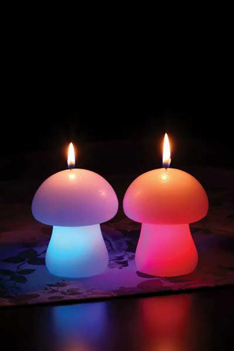{}  Светящаяся свеча Гриб (11 см) plzkar6a 11 свеча зажыгания киев
