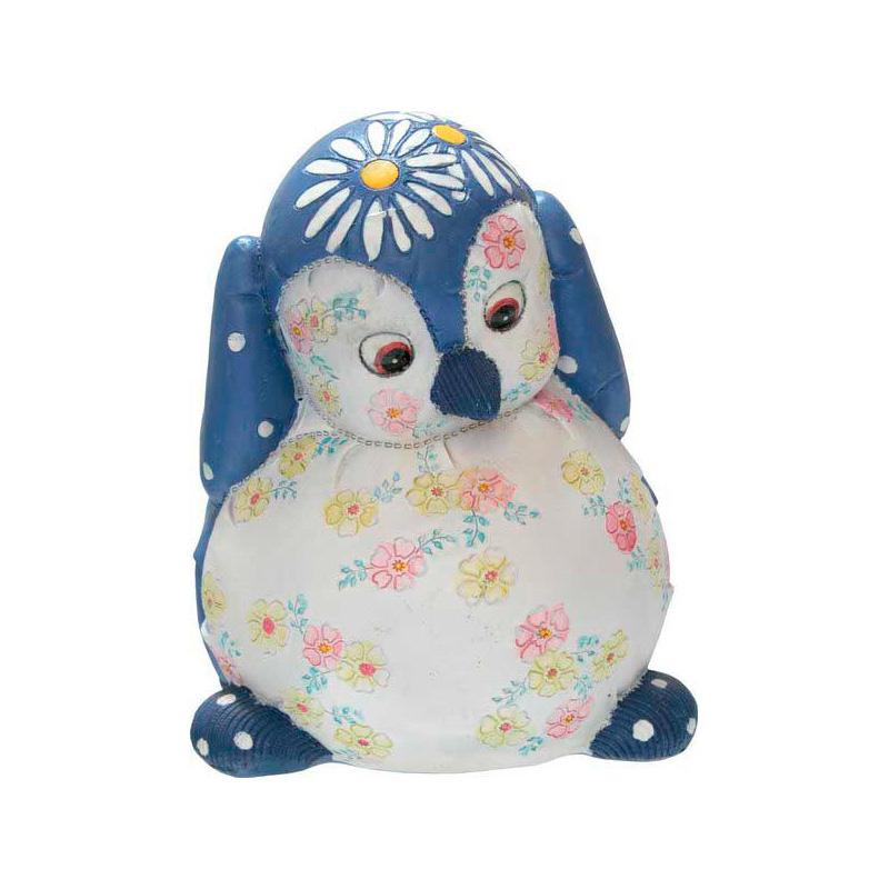 {}  Копилка Пингвин Цвет: Синий (15 см) копилка раскраска bumbaram пингвин