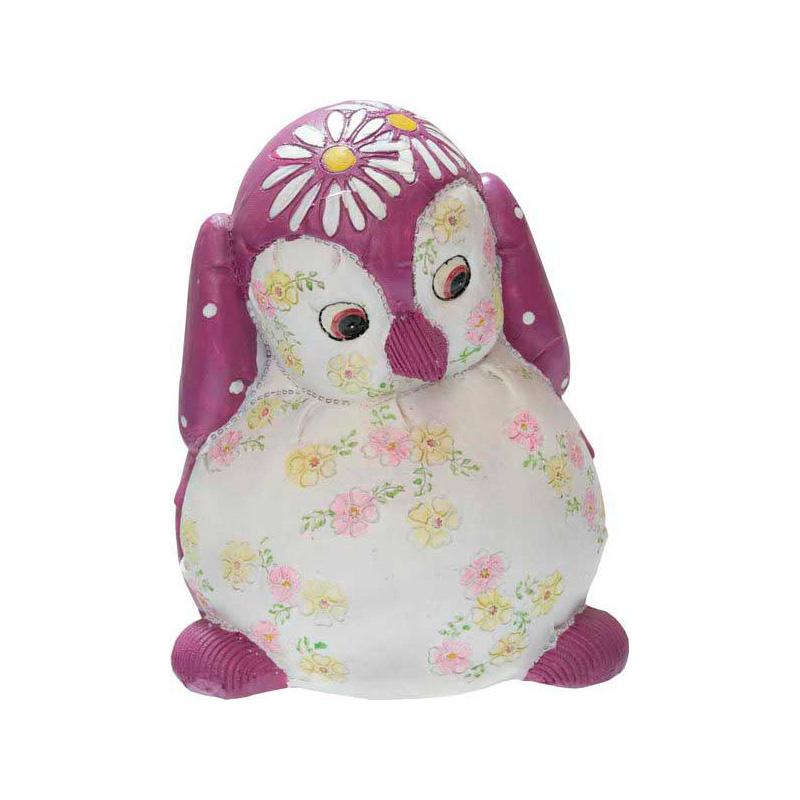 {}  Копилка Пингвин Цвет: Розово-Сиреневый (15 см) копилка раскраска bumbaram пингвин