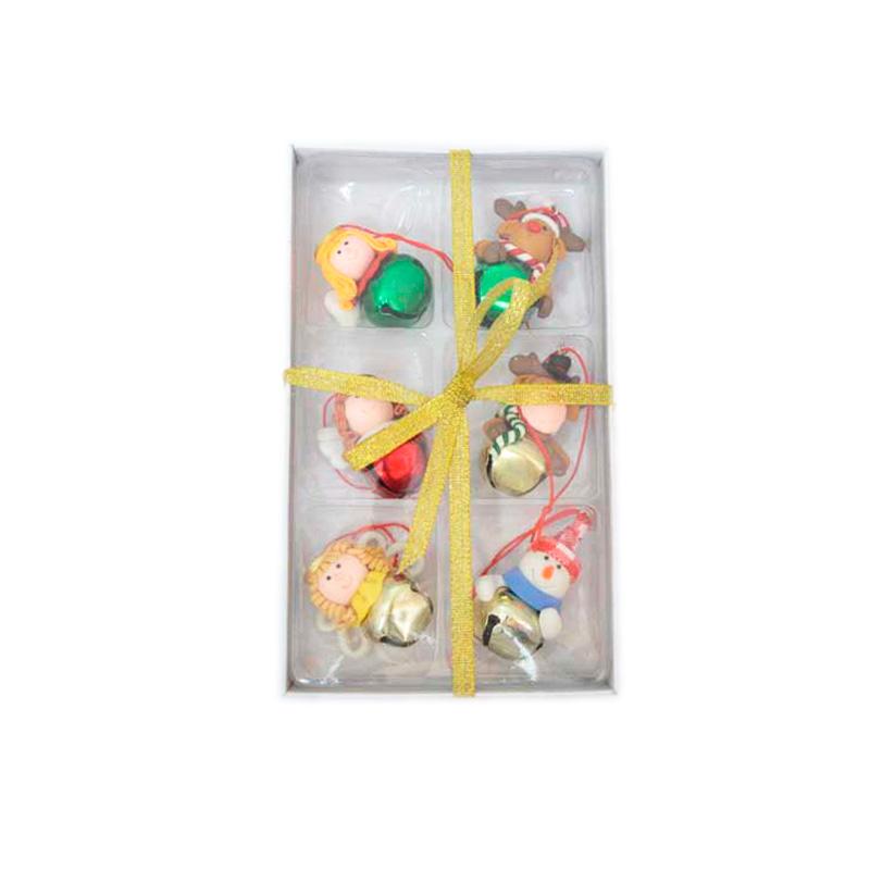 {}  Набор подвесок Бубенчики (5 см - 6 шт) бубенчики декоративные купить в москве
