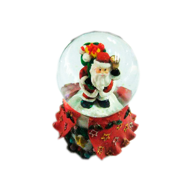 {}  Водяной шар Санта (5х6 см) шар лабрадор 6 5 см