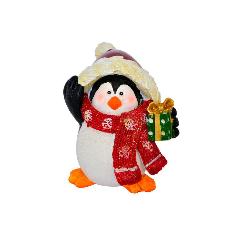 {}  Фигурка Пингвин (13 см) подсвечник лось пингвин и мишка 13 см